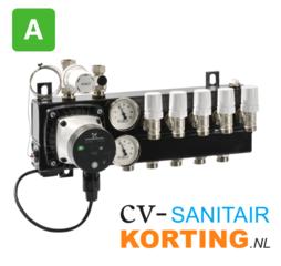 Robot vloerverwarmingsverdeler met A-label pomp