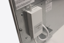 Masterwatt Glass infraroodpaneel l=454mm h=1355mm WIT 500 Watt met RF ontvanger