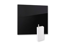 Masterwatt Glass infraroodpaneel l=454mm h=1055mm ZWART 350 Watt met RF ontvanger