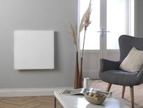Masterwatt Glass infraroodpaneel l=454mm h=1355mm ZWART  500 Watt met RF ontvanger