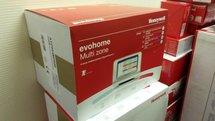 Honeywell Evohome Wifi ATP921R3100 Aan/Uit  pakket met 9 knoppen OP=OP