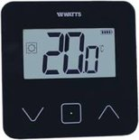 Watts Vision digitale thermostaat zwart 900007930 BT-D03 RF