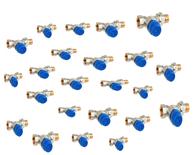 5 x Honeywell Kombi-TRV drukonafhankelijke thermostatische radiatorafsluiter 1/2 DN15 recht V2100DPI15