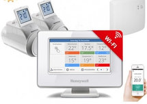 Honeywell Evohome Wifi ATP951M3118 opentherm pakket met 2 knoppen OP=OP