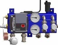 Pentec vloerverwarmingverdeler stand.4gr. + Wilo A-label pomp 2010-6-04-01