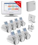 Honeywell Evohome Wifi ATP921R3100 Aan/Uit pakket met 7 knoppen OP=OP