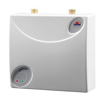 Masterwatt Amicus elektrische tapwater doorstromer 5 kW koper 200350050