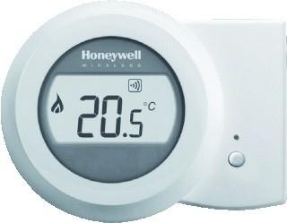 Honeywell Round draadloze kamerthermostaat  Modulation Y87RF2008