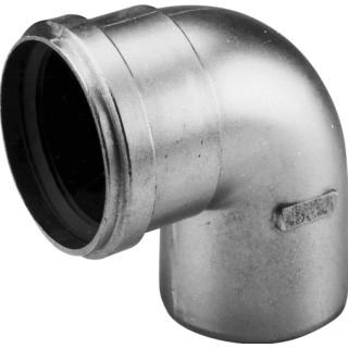 Dikwandig  aluminium bocht 90gr 80mm 400451552
