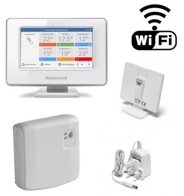 Honeywell EvoHome Wifi pakket aan/uit ATP921R3100 OP=OP