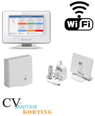 Honeywell EvoHome Wifi pakket Opentherm ATP951M3118 OP=OP