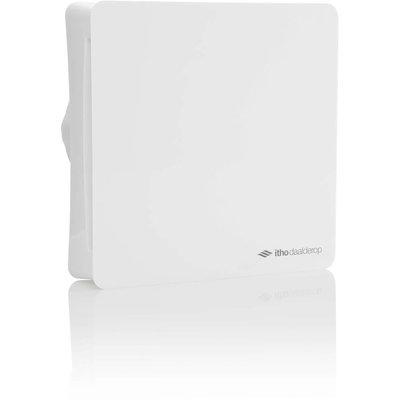 Itho Daalderop BTV-ssst badkamer- en toiletventilator met timer en hygrostaat 100mm wit