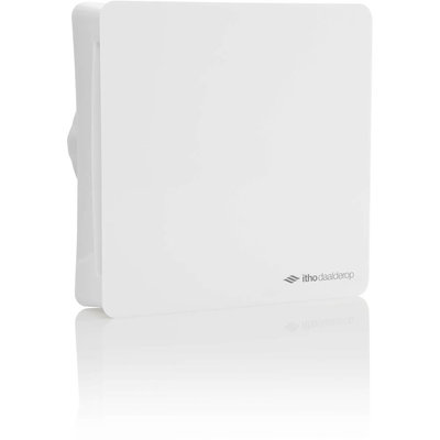Itho Daalderop BTV-ssst T badkamer- en toiletventilator met timer en 2 snelheden 100mm wit