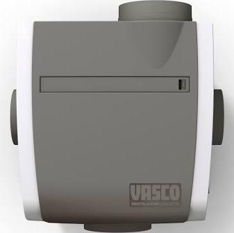 Vasco C400 RF Basic ventilatie-unit exclusief RF schakelaar