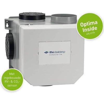 Itho Daalderop CVE-S CVE Optima Inside Co2 ventilatiepakket + vochtsensor en perilexstekker 03-00421