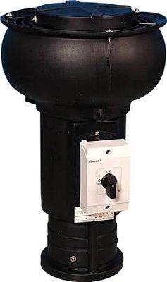 Itho Daalderop CVD-S ECO pijpdak ventilator met vochtsensor en werkschakelaar 03-00406