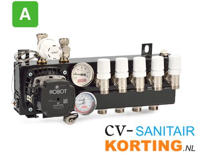 Robot Standaard regelunit vloerverwarming 2GR 255702 A-label (OUD NR 220702)