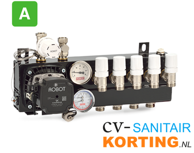 Robot Standaard regelunit vloerverwarming 4GR UPM3 255704 A-label (oud nr. 220704)
