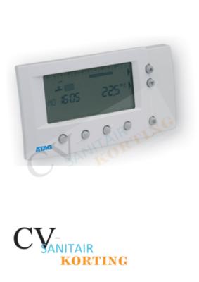 Atag WiZe digitale modulerende klokthermostaat ARZ0035U OP=OP