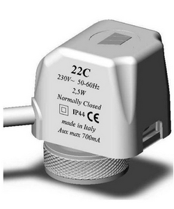 Watts vision servomotor 22C230NC2, 22C 230V NC2 800000188