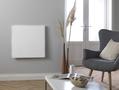Masterwatt Glass infraroodpaneel l=454mm h=1055mm WIT 350 Watt met RF ontvanger