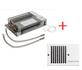 Kickspace 500  Indirect gestookte plintverwarming 98604 + Rooster WIT OP=OP_